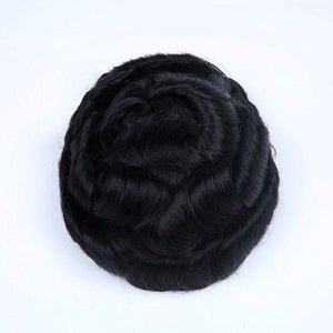 Fine Mono Base Center MPU Side and Back Thin Poly Front Hair System In Stock