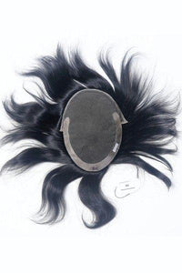 French Lace With Poly Side And Back Hair Toupee For Men