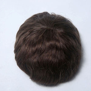 Super Nature Hair Replacement System Poly Base With French Lace In The Top
