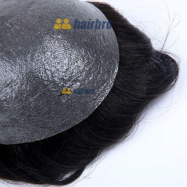 Load image into Gallery viewer, 0.03mm Super Thin Skin All Over Toupee For Men