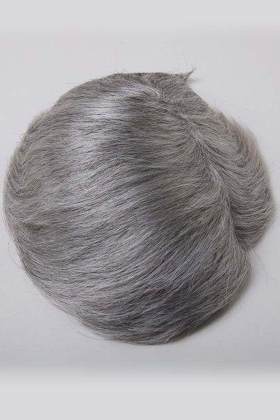 Fine Mono Base With Transparent Poly Side and Back Hair Replacement System