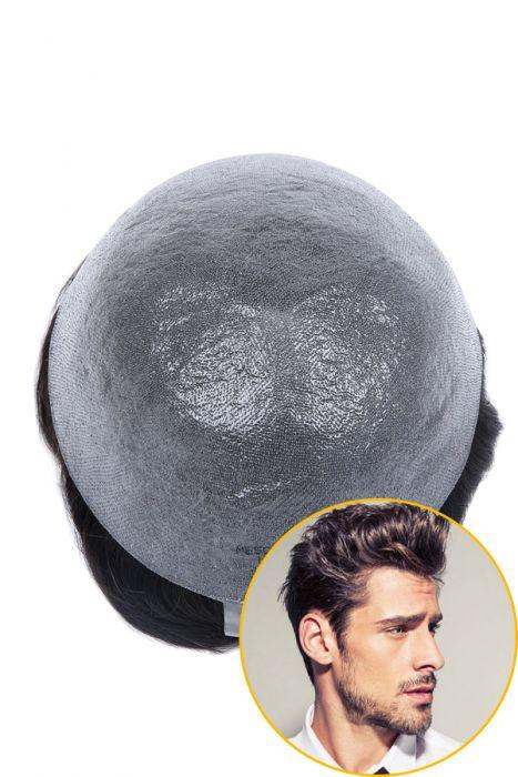 Load image into Gallery viewer, Transparent 0.03mm Thin Poly Hair Replacement System For Men