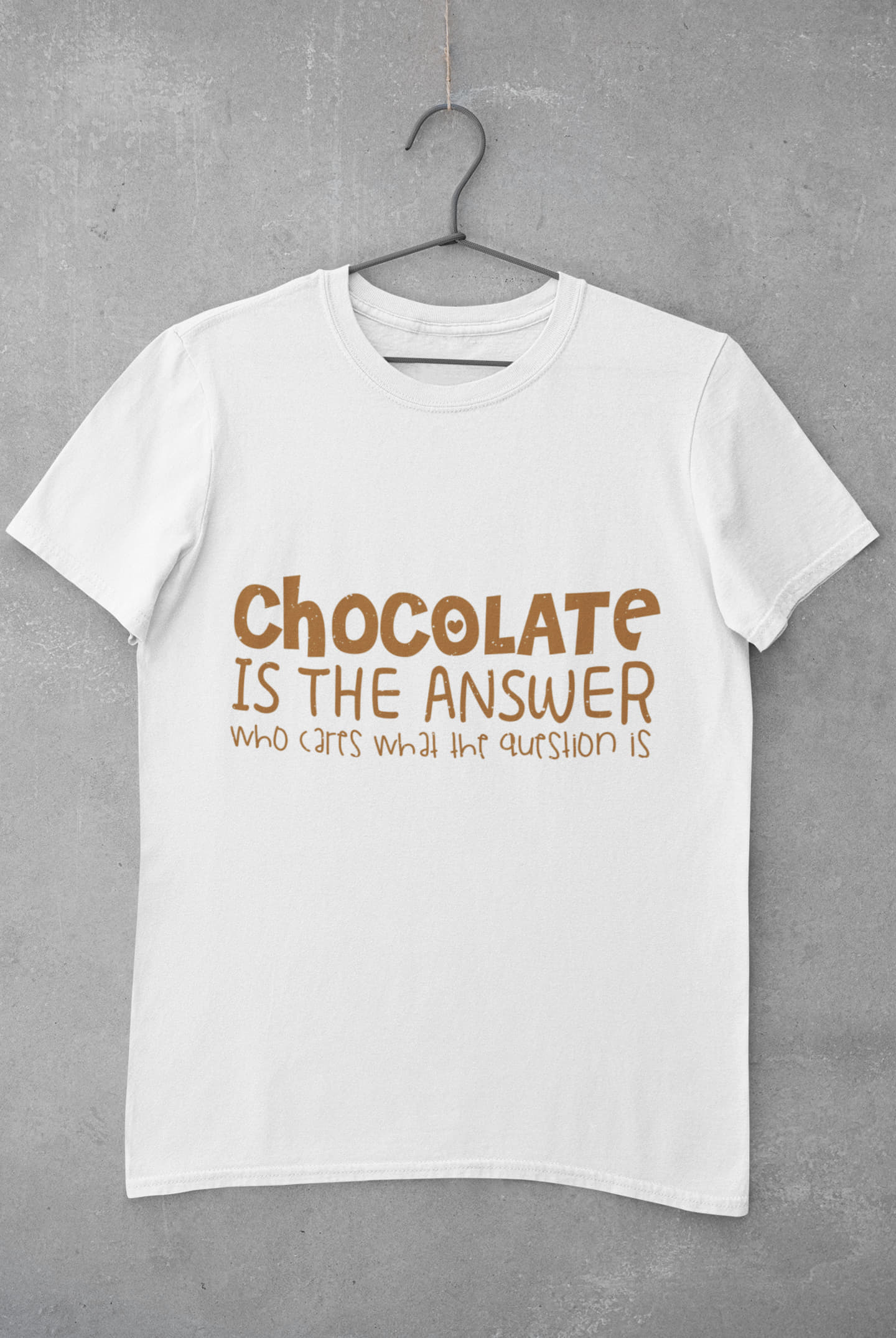 Chocolate Is The Answer Tee