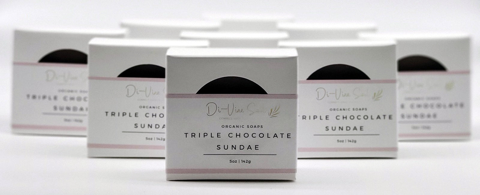 Triple Chocolate Sundae Soap