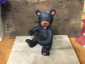 Bear Remote Control Holder- Black Bear