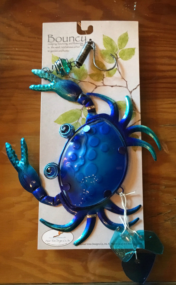 Blue crab bouncy