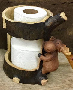 Moose Toilet Paper Holder- Multiple Rolls