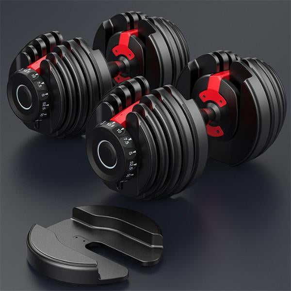 Adjustable Dumbbell Set 24kg (52.5 lbs)