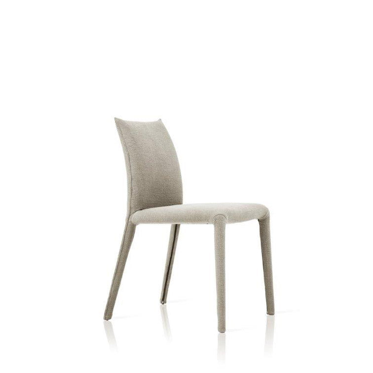 Emi Side Chair Upholstered Thalis 51 Grey Fabric