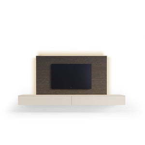 Spazio Hanging Wall-Unit with led light 94'' x 47''