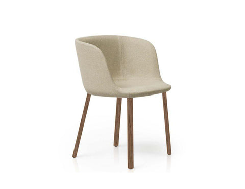 Esse Armchair - Bloom 15 With Walnut Legs