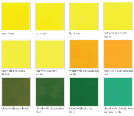 back galleries for pale yellow color names