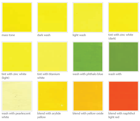 back gallery for pale yellow color names