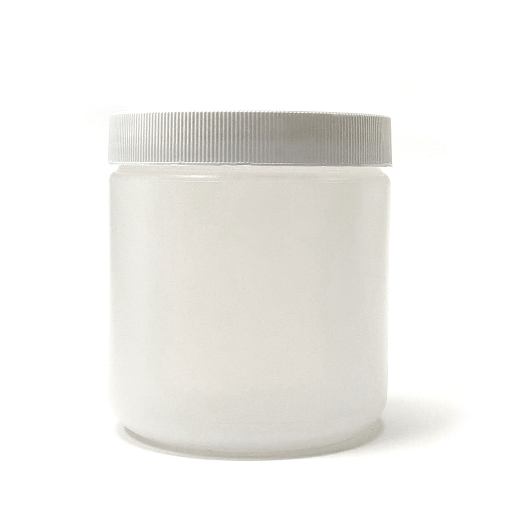 500ml HDPE jar with lid