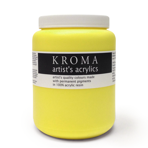 cadmium lemon yellow - 1.125L jar