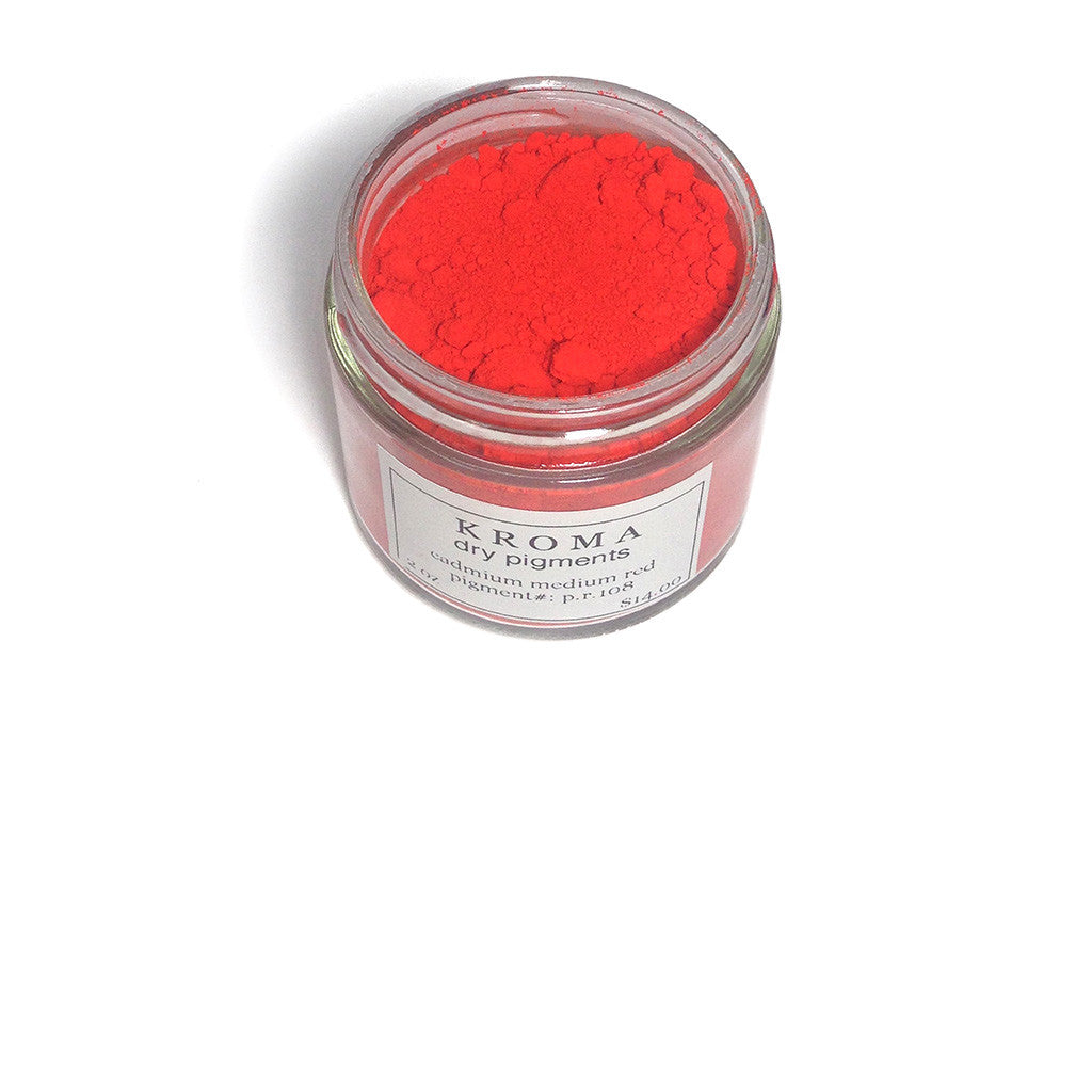 cadmium medium red (p.r.108)