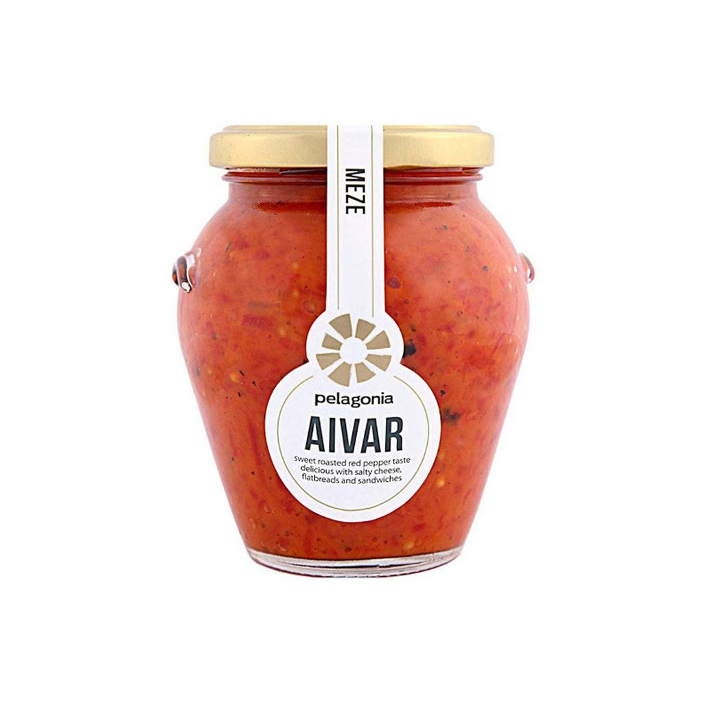 Aivar Sweet Red Pepper Meze Antipasti Pelagonia
