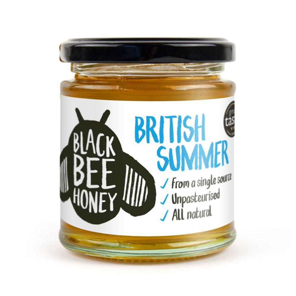 British Summer Honey Honey Black Bee Honey
