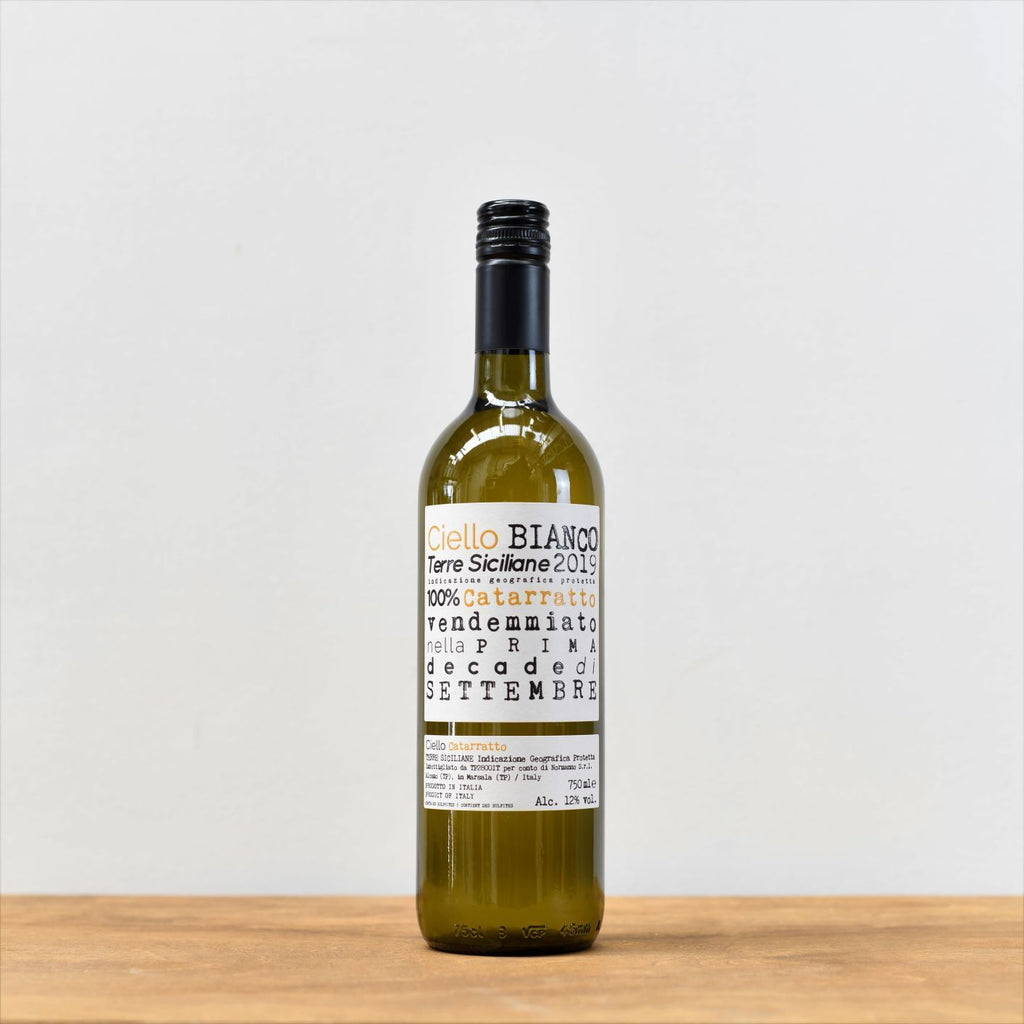 Ciello Bianco Catarratto Wine Monty Wines