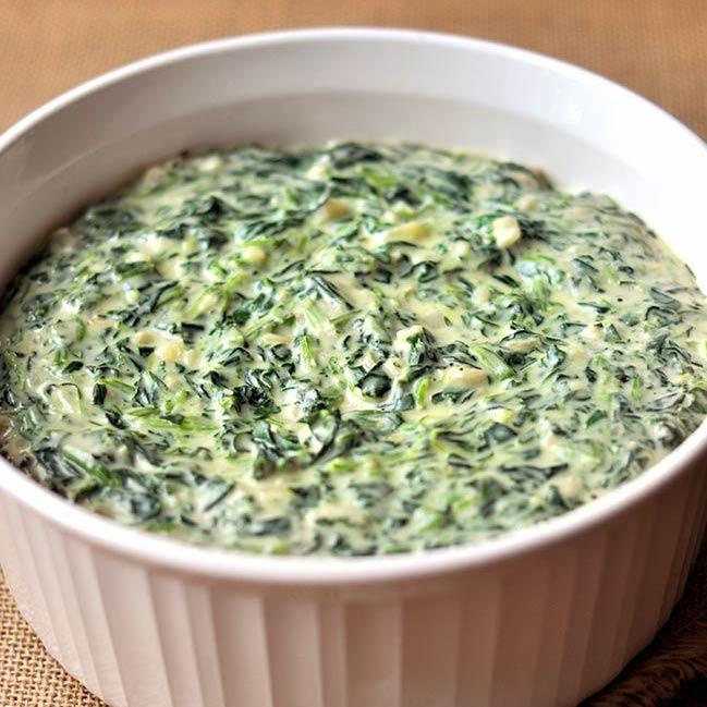 Creamed Spinach Ready Meals Fishers Restaurant