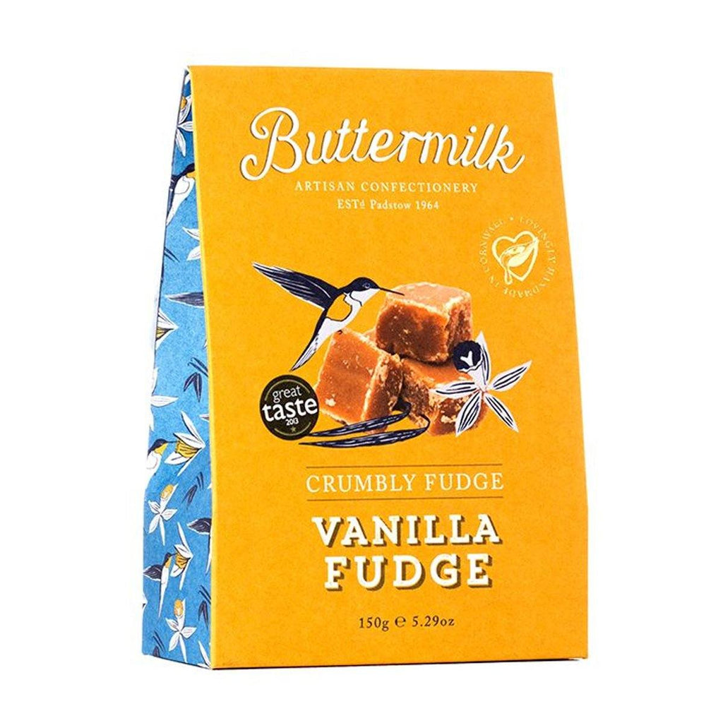 Crumbly Vanilla Fudge Confectionary - Sweets Buttermilk