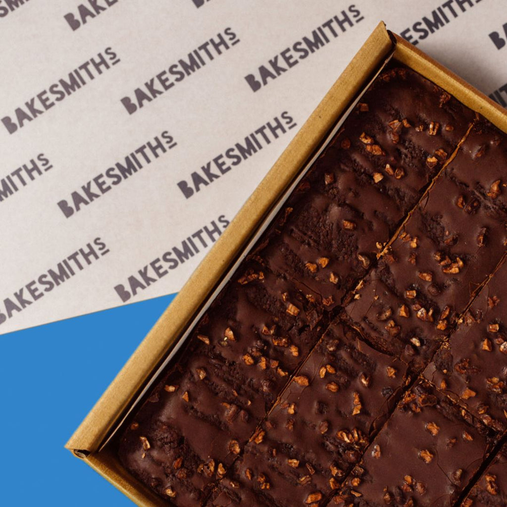Dark & Stormy Brownie Box (Vegan) Confectionary - Bakery Bakesmiths