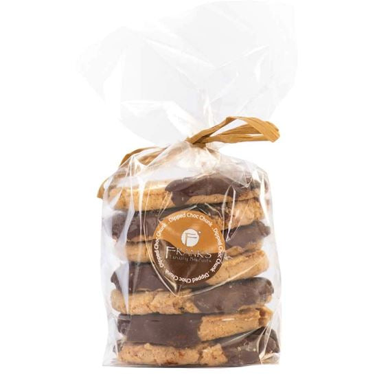 Dipped Dark Choc Chunk Artisan Oaties Confectionary - Bakery Frank's Luxury Biscuits