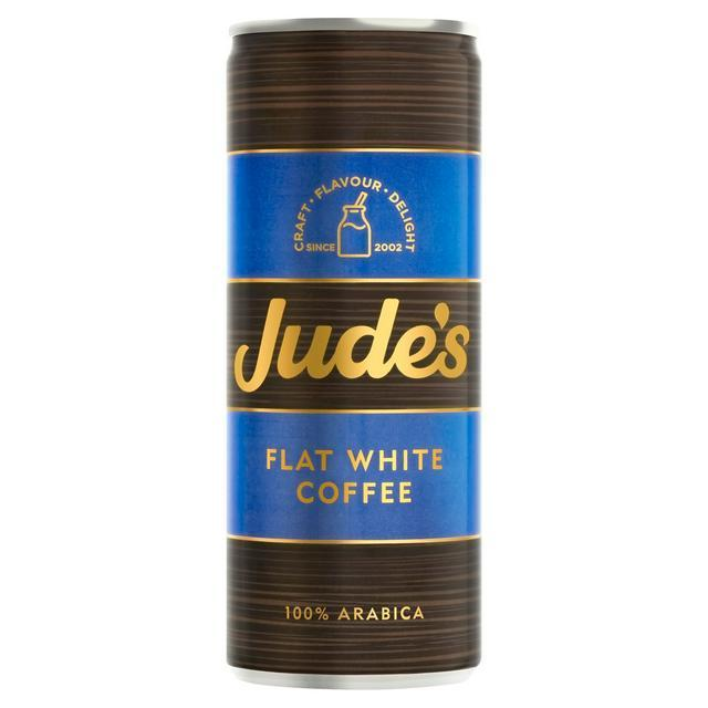 Flat White Coffee Soft Drinks Jude's