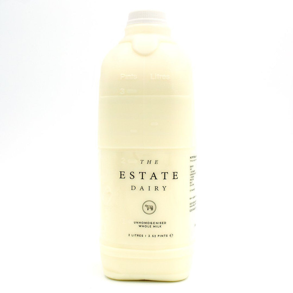 Jersey Whole Milk Milk The Estate Farm