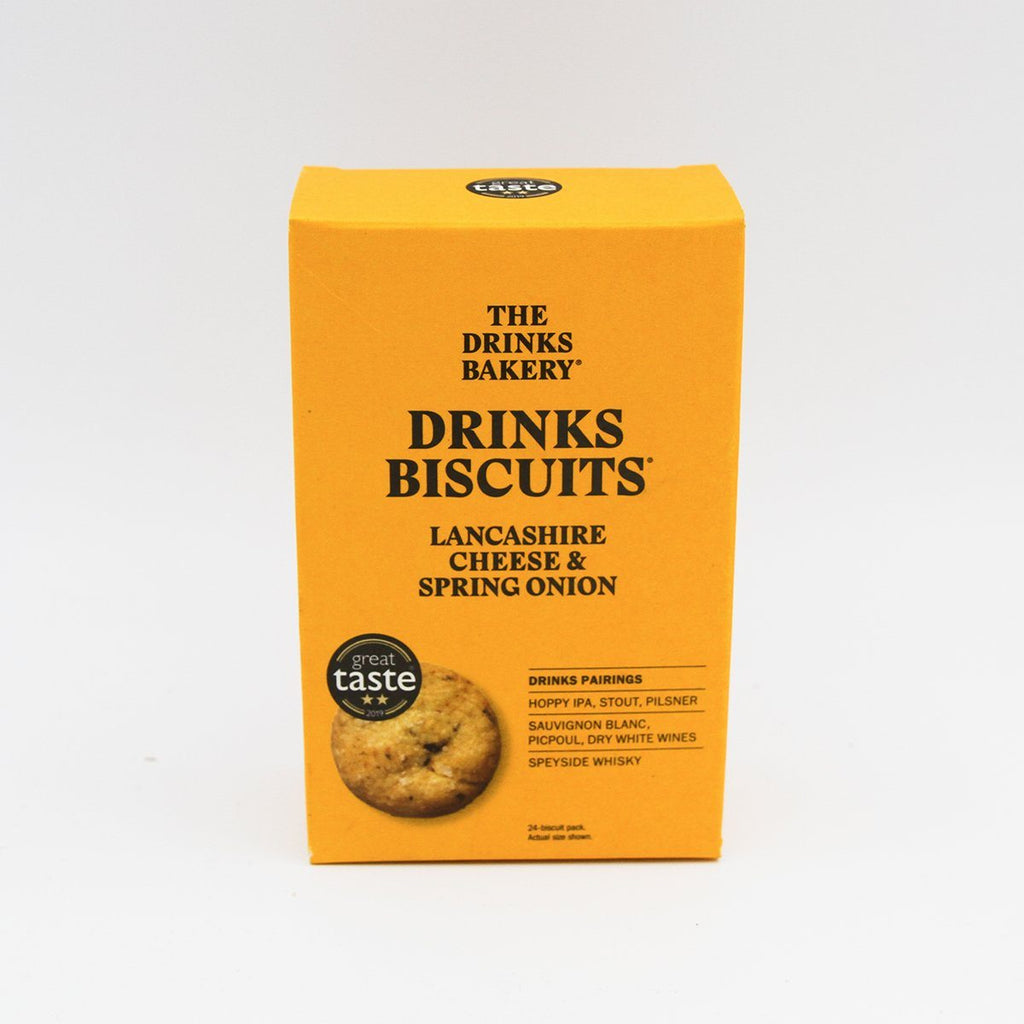 Lancashire Cheese & Spring Onion Biscuits Bread Snack The Drinks Bakery