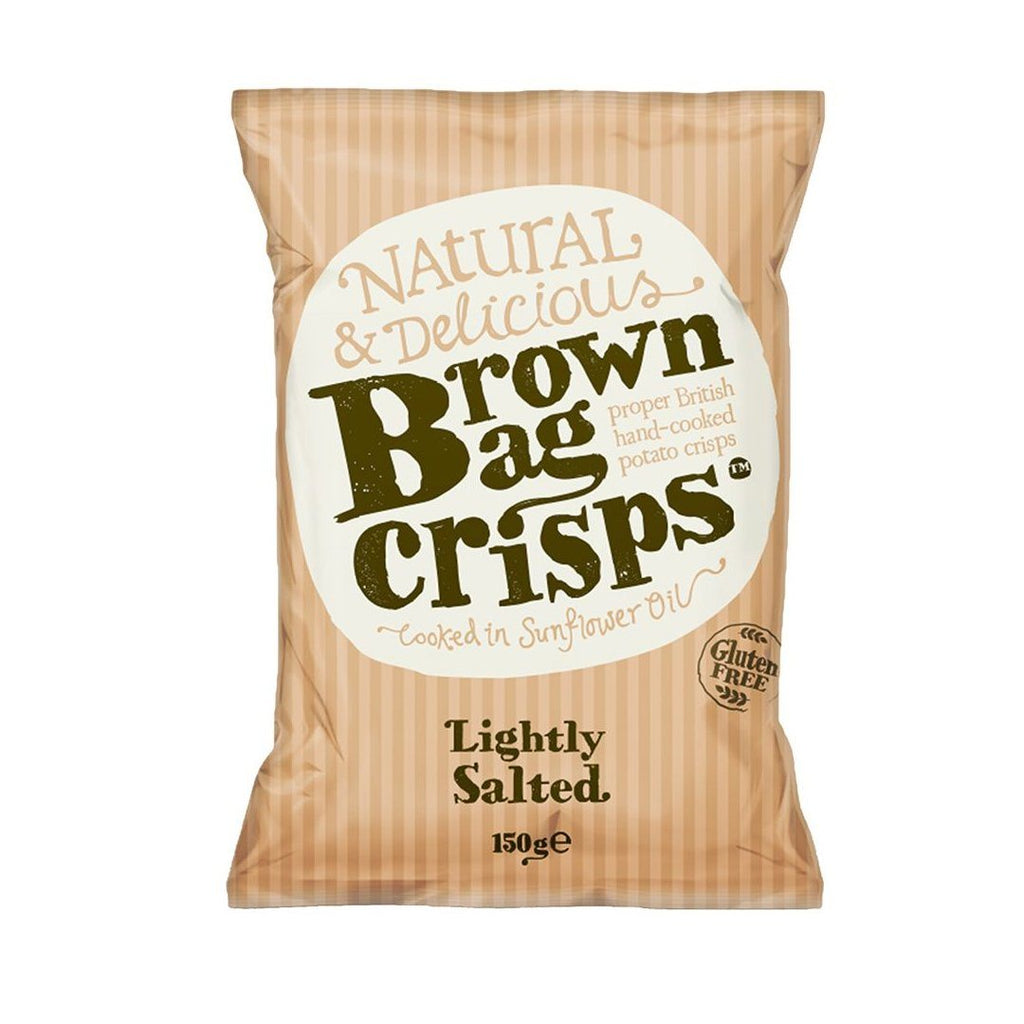 Lightly Salted Crisps Crisps, Snacks & Nuts Brown Bag Crisps