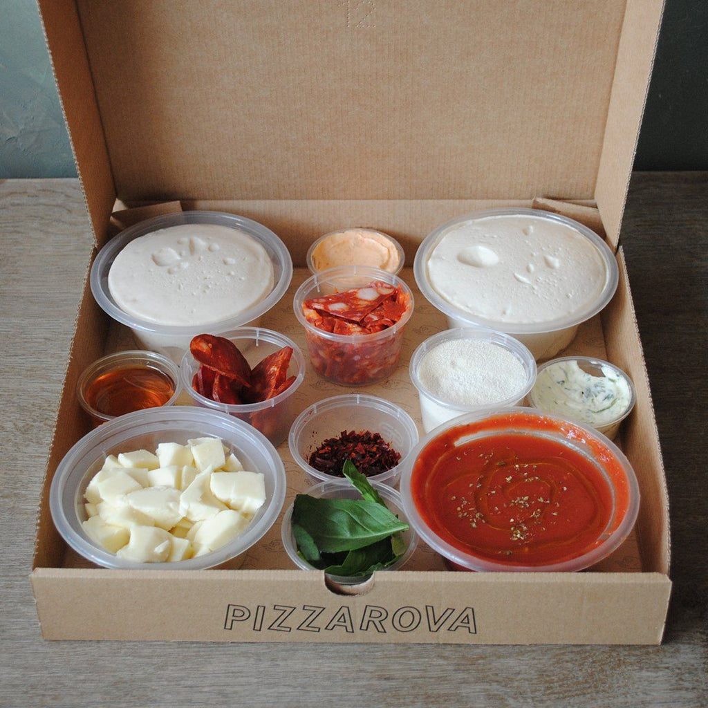 Make-Your-Own-Pizza Kit (Double Chorizo) Pizza Pizzarova
