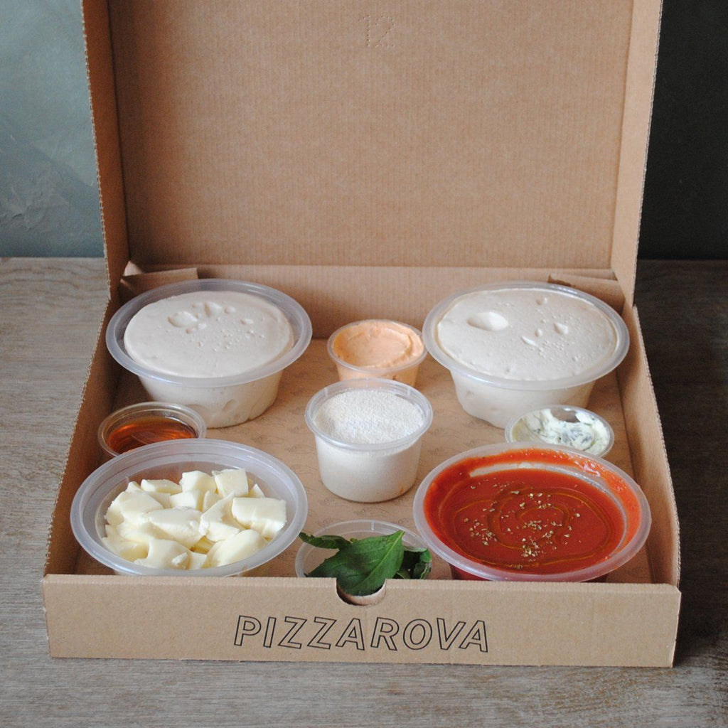 Make-Your-Own-Pizza Kit Pizza Pizzarova