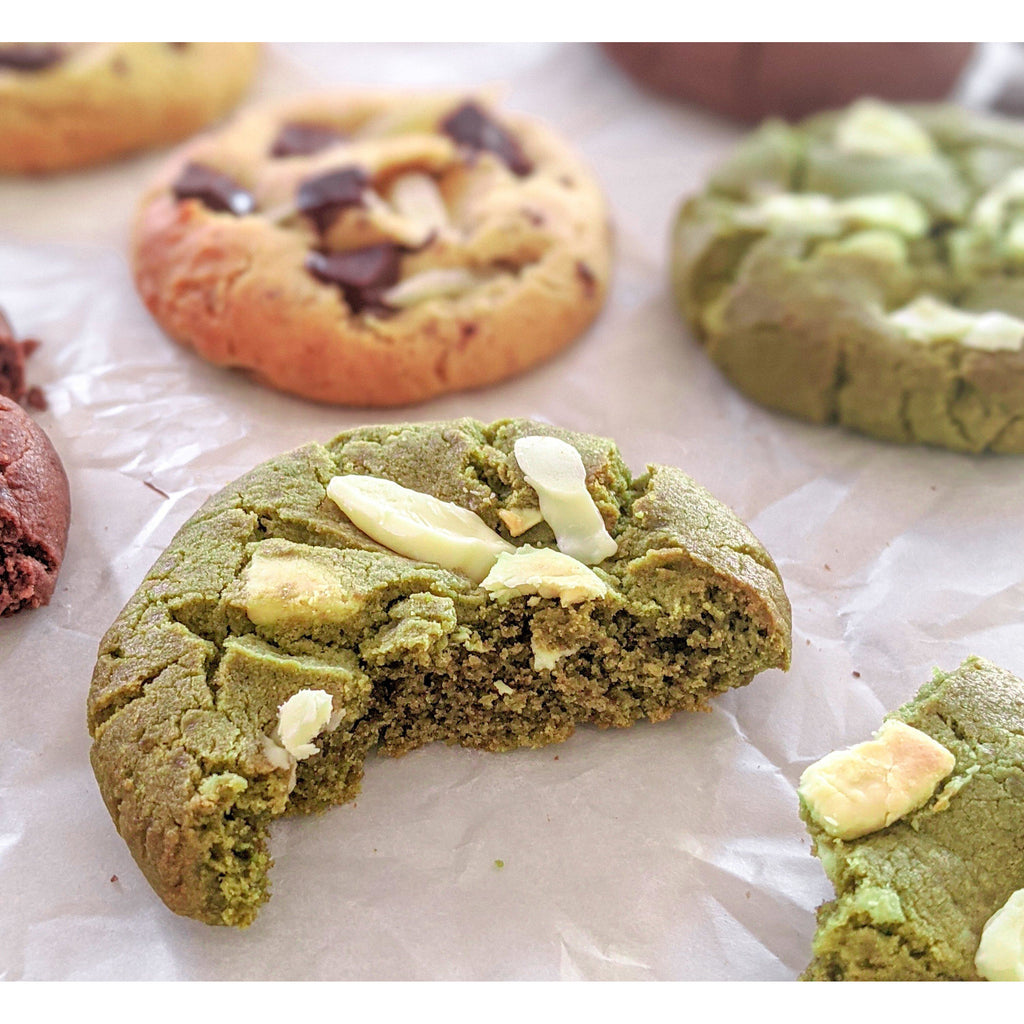 Matcha Kukkii Cookie Box Confectionary - Bakery Bakery Number Eight