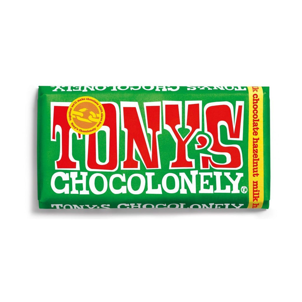 Milk Chocolate Hazelnut Confectionary - Sweets Tony's Chocolonely