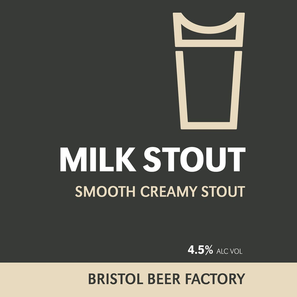 Milk Stout Mini Tin Beers Bristol Beer Factory
