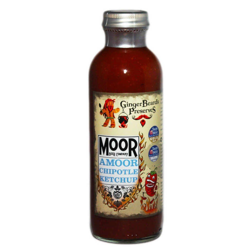 Moor Amoor Chipotle Ketchup Condiments GingerBeard's Preserves