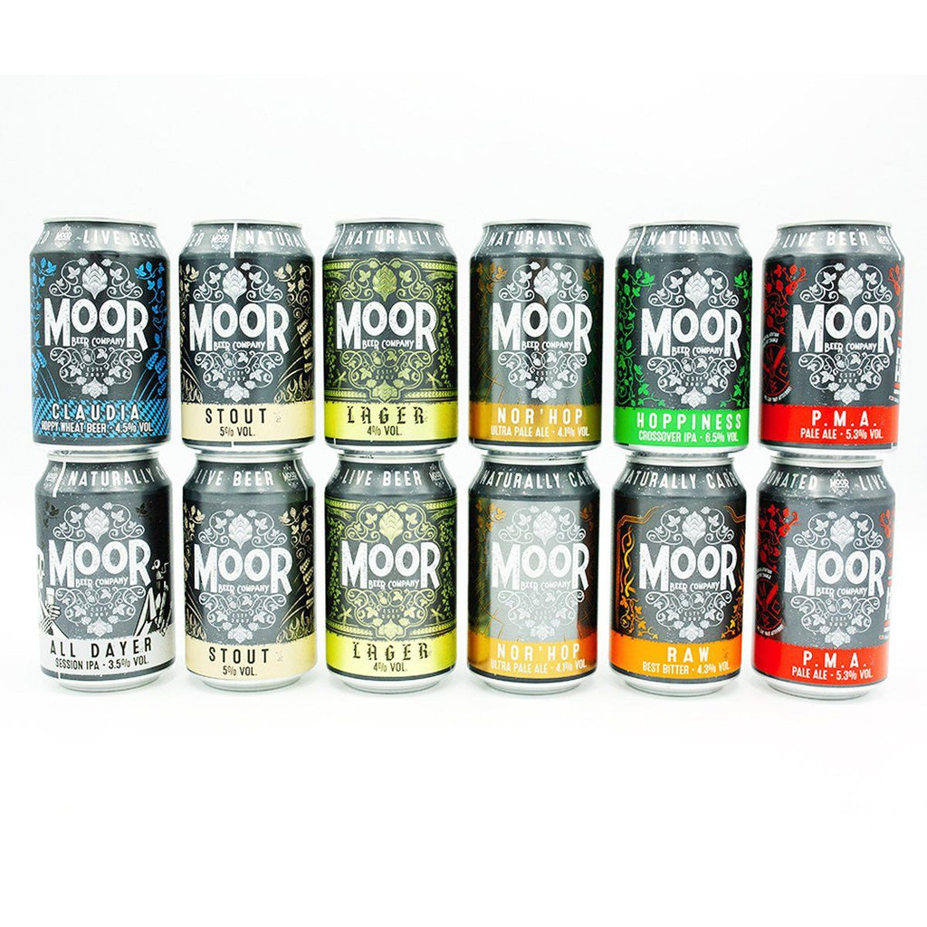 Moor Beer Mixed Case Beers Moor Beer