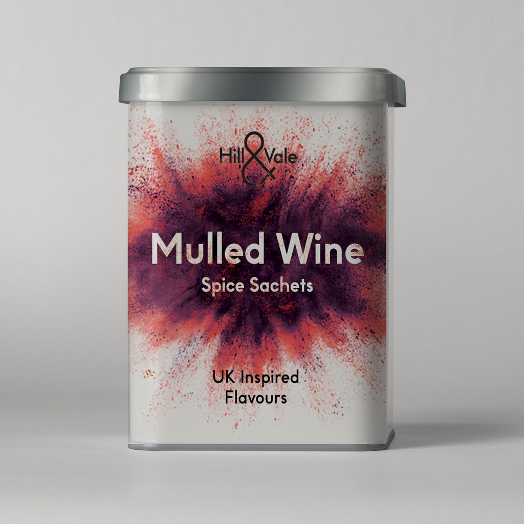 Mulled Wine Spice Sachets Herbs & Spices Hill & Vale
