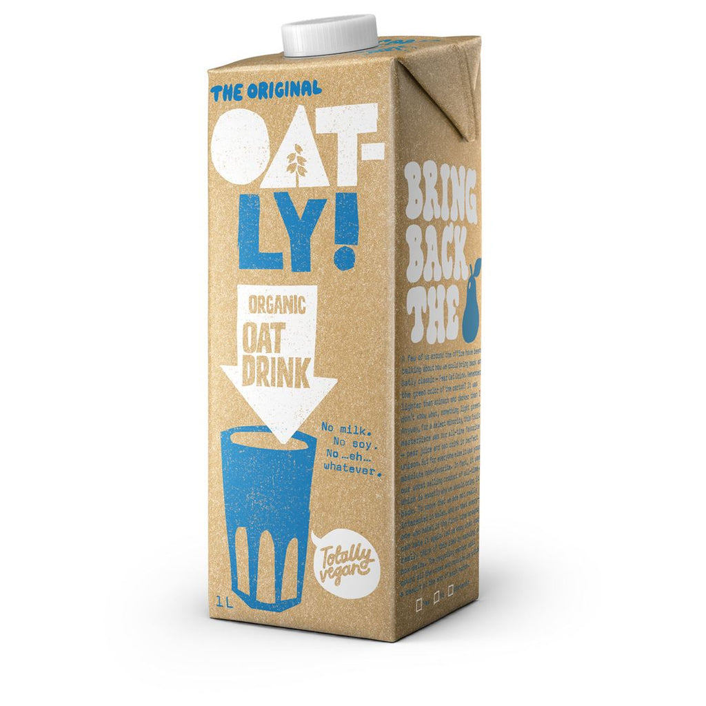 Oat Drink Organic Milk Alternative Oatly