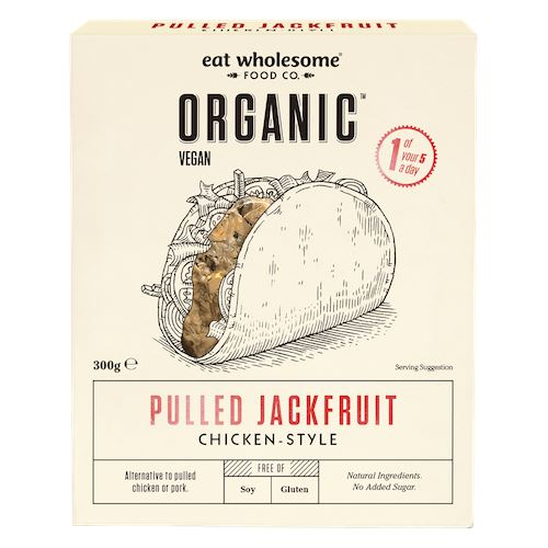 Organic Chicken-Style Jackfruit Meat Alternatives Eat Wholesome
