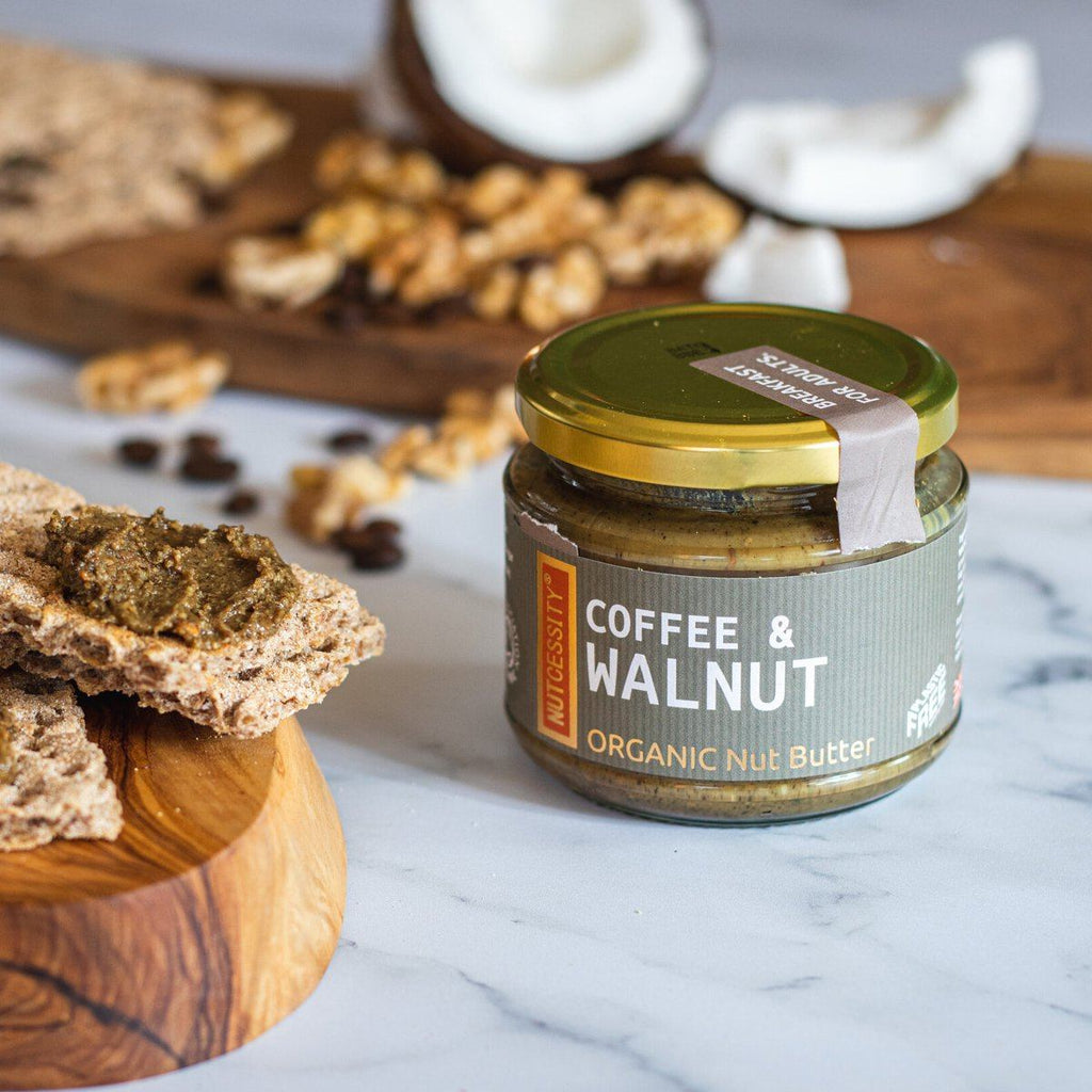 Organic Coffee & Walnut Butter Nut Butters & Spreads Nutcessity