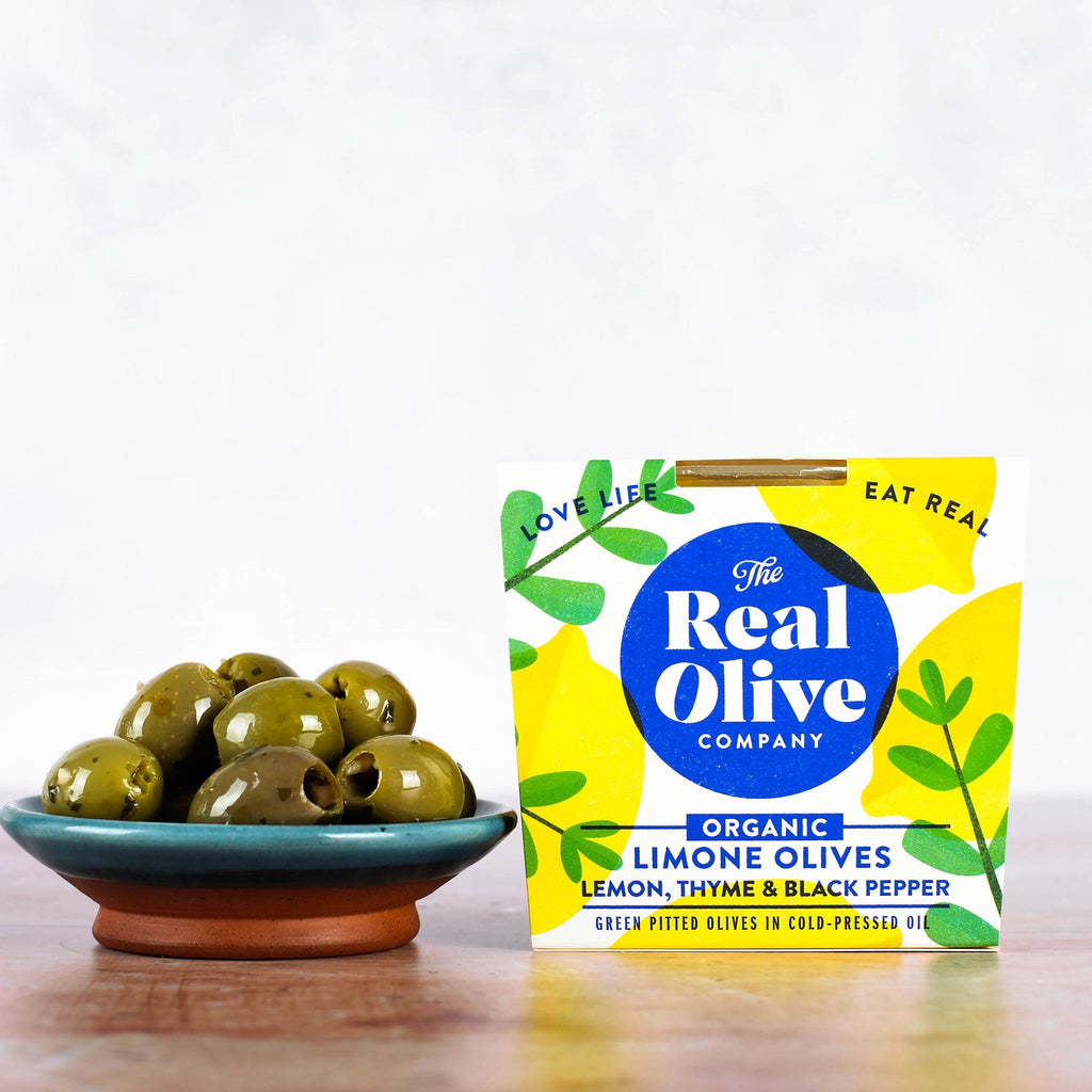Organic Limone Olives Olives The Real Olive Company