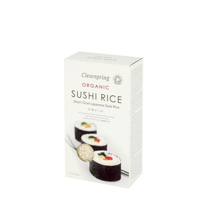 Organic Sushi Rice Dried Grains, Rice & Pasta Clearspring