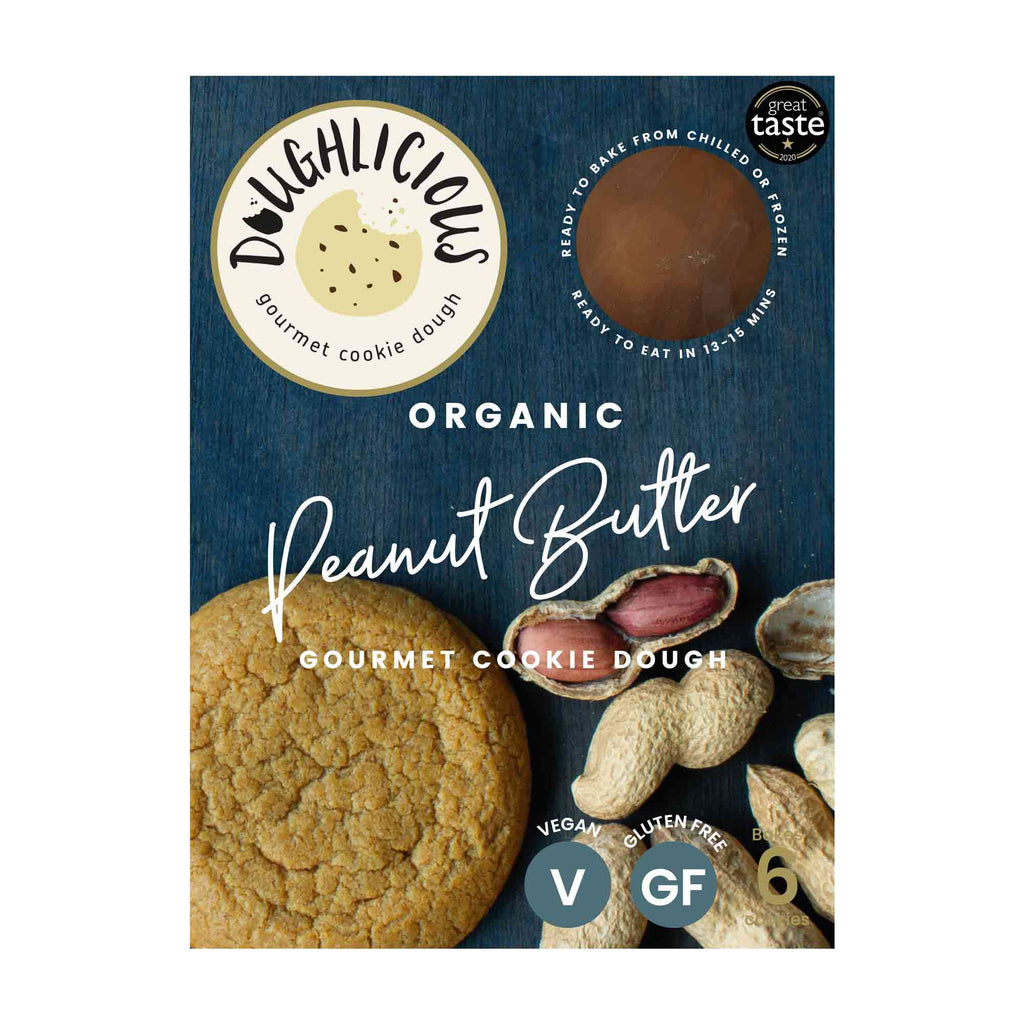 Peanut Butter Gourmet Cookie Dough Confectionary - Bakery Doughlicious
