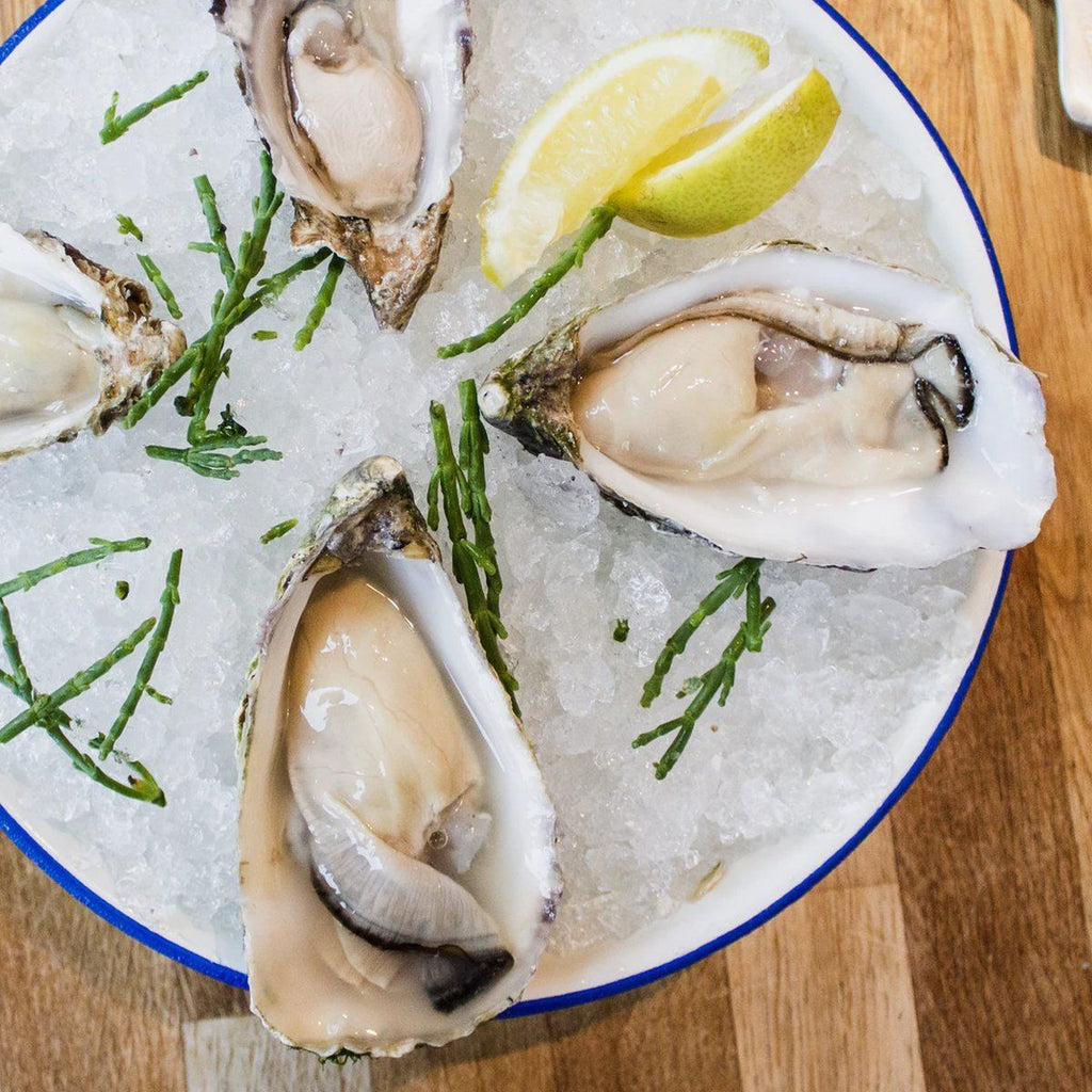 Porthilly Oysters seafood Clifton Seafood