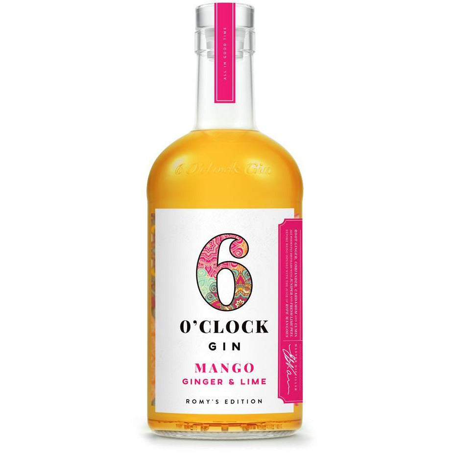 Romy's Edition – Mango, Ginger & Lime Spirits & Liqueurs 6 O'clock Gin