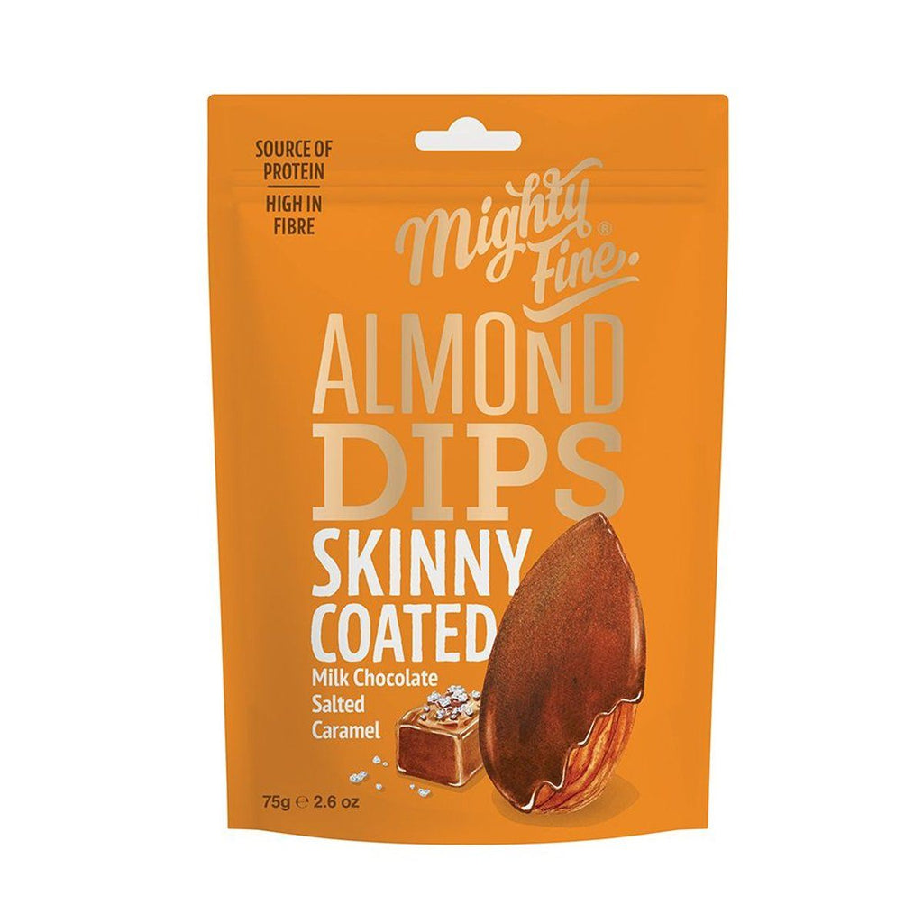 Salted Caramel Chocolate Coated Almonds Confectionary - Sweets Mighty Fine