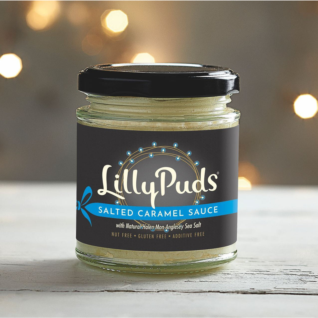 Salted Caramel Sauce Sweet Sauces LillyPuds