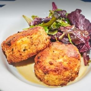 Scottish Salmon Fishcakes with Lemon Butter Sauce Ready Meals Fishers Restaurant